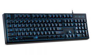GENIUS GX GAMING Scorpion K6/ drátová/ podsvícená/ USB/ černá/ CZ+SK layout/ SmartGenius A