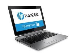 """HP Pro x2 612 G1, i3-4012Y, 12.5"""" HD, 4GB, 128GB SSD, abgn, BT, FpR, Backlit kbd, W10Pro"""