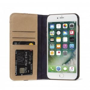 DECODED Leather Wallet C.2,saharAPPLE iPhone 8+/7+/6s+