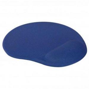 Podložka pod myš, ergonomická, gelová, modrá, Logo