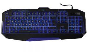 HAMA uRage gamingová klávesnice Exodus Macro2/ drátová/ podsvícená (tři barvy)/ USB/ CZ+SK