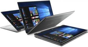 "DELL XPS 13 Touch (9365)/ i5-7Y54/ 8GB/ 256GB SSD/ 13.3"" FHD dotykový/ FPR/ W10PRO/ stříbr"