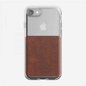 NOMAD Clear case, rustic brown - APPLE iPhone 8/7