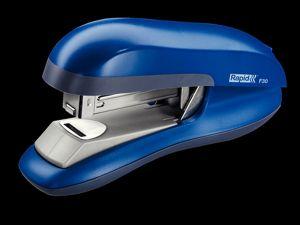 Stolní sešívačka Rapid F30 s ploch. sešíváním, 30 listů, modrá