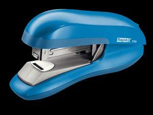 Stolní sešívačka Rapid F30 s ploch. sešíváním, 30 listů, světle modrá