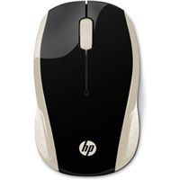 HP 200 Silk Gold Wireless Mouse - MOUSE