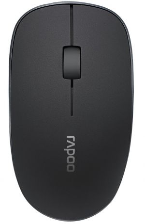 RAPOO 3510 Black/ 1000 dpi/ bezdrátová/ 2,4 GHz/ černá