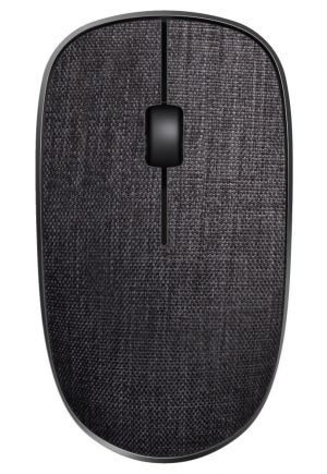 RAPOO 3510 Plus Black/ 1000 dpi/ bezdrátová/ 2,4 GHz/ textilní povrch/ černá