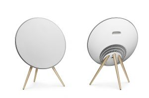 BeoPlay Speakers A9 White with maple legs
