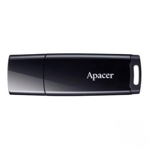 Apacer USB Flash Drive, 2.0, 8GB, AH336, černý, AP8GAH336B-1, s plastovou krytkou