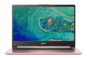 "Acer Swift 1(SF114-32-P6JZ) Pentium N5000/4GB+N/128GB SSD M.2+N/A/HD Graphics/14"" FHD matn"