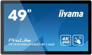 "49"" iiyama TF4938UHSC-B1AG - OpenFrame,IPS,4K UHD,8ms,500cd/m2, 1000:1,16:9,VGA,HDMI,DP,DV"