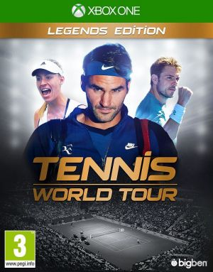 XBOX ONE - Tennis World Tour: Legends Edition