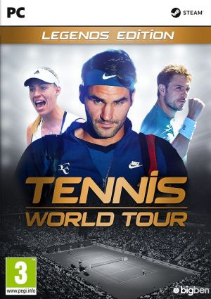 Tennis World Tour: Legends Edition