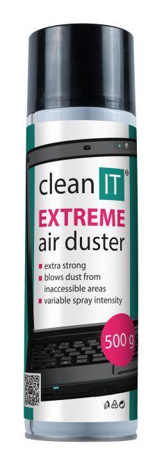 CLEAN IT stlačený plyn EXTREME 500g, nehořlavý