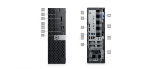 DELL OptiPlex SFF 5060/Core i5-8500/8GB/1TB/Intel UHD/DVD-RW/Win 10 Pro 64bit/3Yr PS NBD