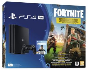 PS4 Pro - Playstation 4 Pro 1TB + voucher Fortnite