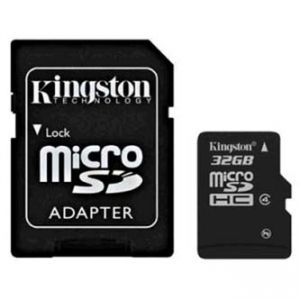 Kingston MICRO SDHC Class 4, 32GB, micro SDHC, SDC4/32GB, pro archivaci dat
