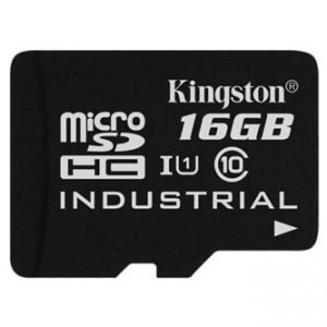 Kingston Micro Secure Digital card, 16GB, micro SDHC, SDCIT/18GBSP, UHS-I