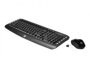 HP Wireless Classic Desktop - Klávesnice a sada myši - bezdrátový - 2.4 GHz - angličtina -