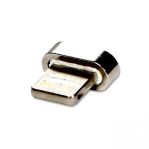 USB (2.0) Redukce, Magnetický konec-Lightning M, 0, stříbrná, redukce k magnetickému kabel