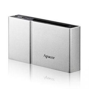 Apacer čtečka paměťových karet USB (2.0), AM404, microSD, SD,Compact Flash,Memory Stick PR