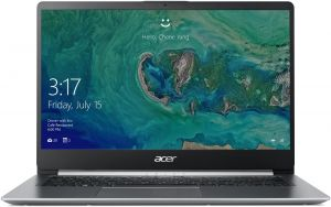"Acer Swift 1 (SF114-32-P5LQ) Pentium N5000/4GB+N/A/256GB SSD M.2+N/A/HD Graphics/14"" FHD I"