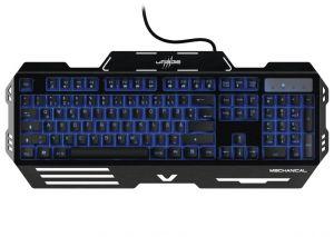 HAMA uRage gamingová klávesnice M3chanical/ drátová/ RGB podsvícená/ USB/ CZ+SK/ černá