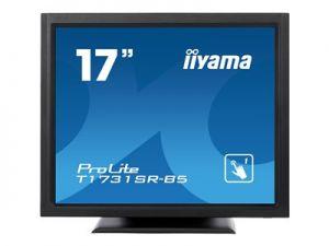 "Iiyama ProLite T1731SR-B5 - LED monitor - 17"" - dotykový displej - 1280 x 1024 - TN - 250"