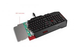 ASUS Hard bundle CERBERUS COMBO keyboard CZ layout + Cerberus headset V2 RED