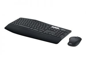 Logitech MK850 Performance - Klávesnice a sada myši - Bluetooth, 2.4 GHz - German QWERTZ