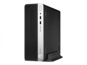 HP ProDesk 400 G5 - SFF - 1 x Core i3 8100 / 3.6 GHz - RAM 8 GB - SSD 256 GB - NVMe - DVD-