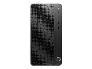 HP 290 G2 - Mikro věž - 1 x Core i3 8100 / 3.6 GHz - RAM 4 GB - SSD 128 GB - NVMe - DVD-za