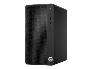 HP Desktop Pro - Mikro věž - 1 x Core i3 7100 / 3.9 GHz - RAM 4 GB - HDD 500 GB - DVD-zapi