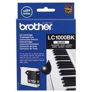 Inkoustová cartridge Brother LC-1000BK - prošlá expirace (may12)