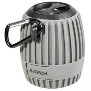 A4Tech reproduktor BTS-07, Li-Ion, 1.0, 3W, regulace hlasitosti, šedý, přenosný, Bluetooth