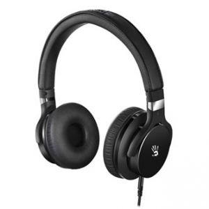 A4TECH, Bloody M510, sluchátka s mikrofonem, bez ovládání hlasitosti, černá, herní sluchát
