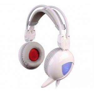 A4TECH, Bloody G310, sluchátka s mikrofonem, ovládání hlasitosti, bílá, herní sluchátka, 2