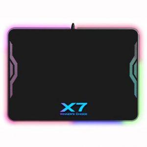 Podložka pod myš, XP-50NH, herní, černá, 25,6x35,8 cm, A4Tech