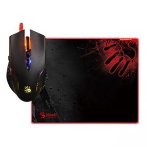 A4tech Myš BLOODY Q5081S, optická, 8tl., 1 kolečko, drátová (USB), černá, 3200DPI, s herní