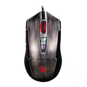 A4TECH Myš BLOODY P93, optická, 8tl., 1 kolečko, drátová (USB), stříbrná, 5000DPI, herní,