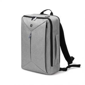 Dicota Backpack Dual EDGE 13-15.6 light grey