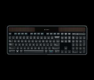 Bundle klávesnice Logitech K750, CZ layout - laserováno externě + podložka