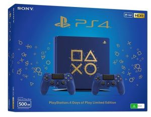 PS4 - Playstation 4 500GB + DS4 edice Days of Play