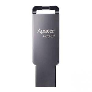 Apacer USB flash disk, 3.1, 32GB, AH360, stříbrný, AP32GAH360A-1, s poutkem