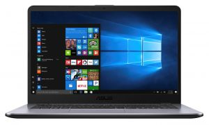 "ASUS X505BA-EJ163T A6-9220/4GB/1TB/AMD Radeon R4/15,6"" FHD matný/W10 Home/Grey"