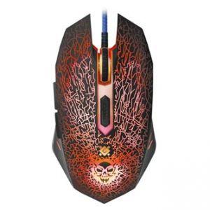 Defender Myš Shock GM-110L, optická, 6tl., 1 kolečko, drátová (USB), černá, 3200DPI, s her