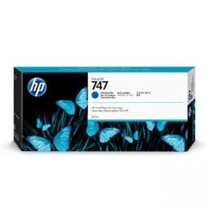 HP originální ink P2V85A, HP 747, chromatic blue, 300ml, HP HP DesignJet Z9
