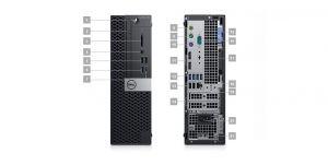 DELL OptiPlex SFF XE3/Core i5-8500/8GB/256GB/Intel HD/Win 10 Pro 64bit/3Yr NBD