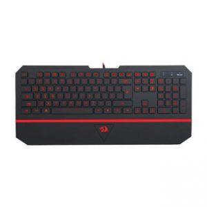 REDRAGON Klávesnice KARURA, herní, černá, drátová (USB), US, podsvícená, tichá, RGB